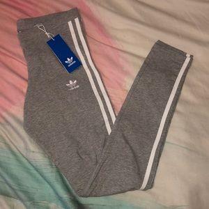 NEW Adidas 3 stripes tights  women XS